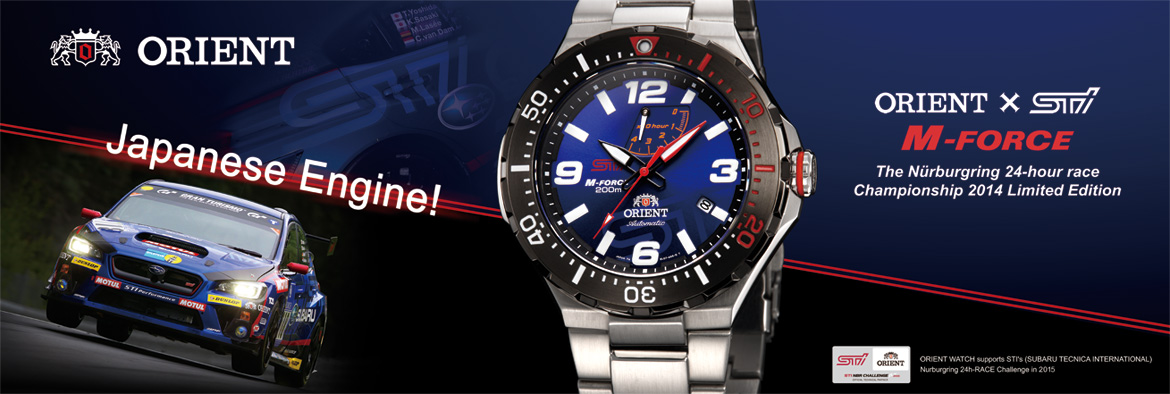 Orient Automatic M-Force STI SEL07003D0